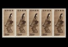 プレミアム切手 見返り美人シート
