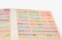 切手アルバムの写真