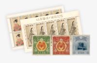 立太子礼記念切手・見返り美人など(シート切手多数有)の写真