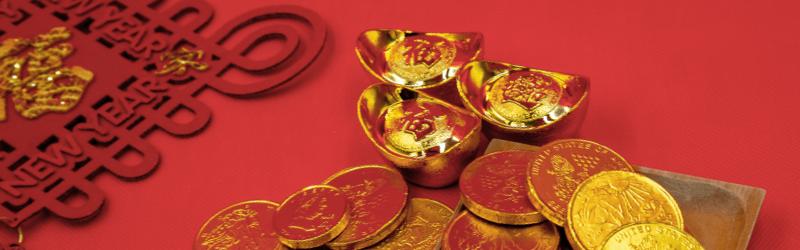 中国の金製品