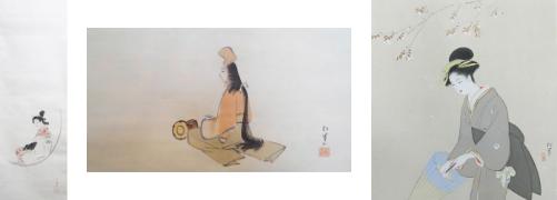 上村 松園の代表作