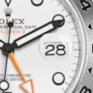 カレンダーが切り替わらない時計