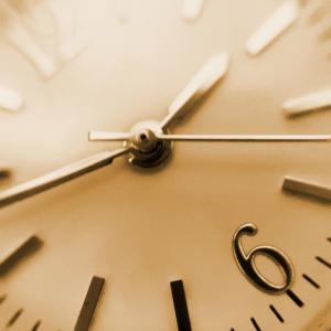 文字盤焼けをしている時計