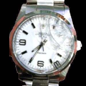 文字盤が破損している時計